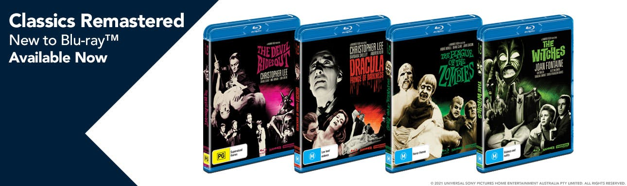 Classics Remastered New to BD OUT NOW - Full