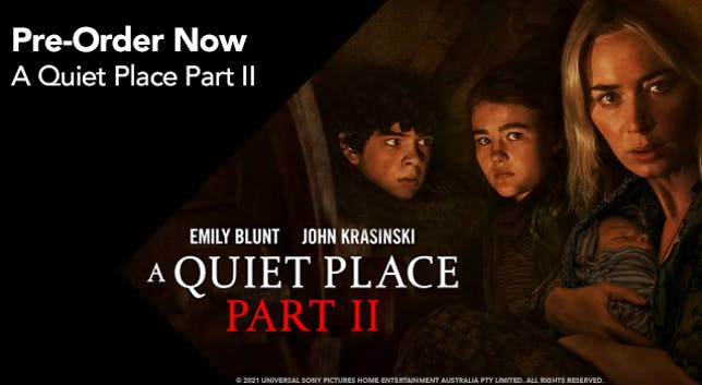 A Quiet Place Two - Half