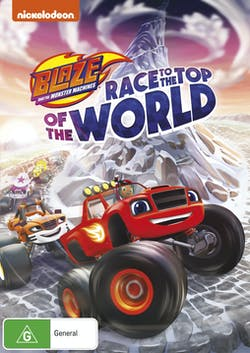 Blaze and the Monster Machines: Race to the Top of the World [DVD]