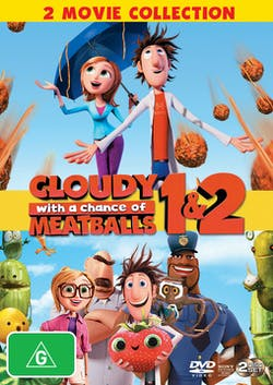 Cloudy With a Chance of Meatballs 1 and 2 [DVD]