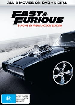 Fast & Furious: 8-movie Collection [DVD]