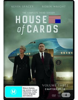 House of Cards: The Complete Third Season [DVD]