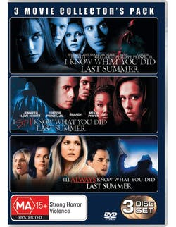 I Know What You Did Last Summer: Trilogy [DVD]
