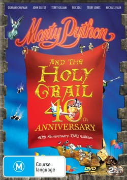 Monty Python and the Holy Grail (40th Anniversary Edition) [DVD]