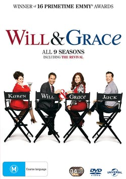 Will and Grace: Series 1-9 (Box Set) [DVD]