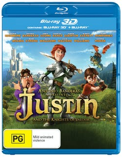 Justin and the Knights of Valour (with 3D Version) [Blu-ray]