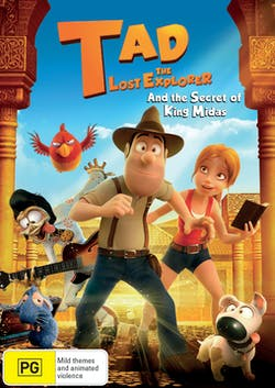 Tad the Lost Explorer and the Secret of King Midas [DVD]