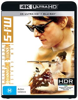 Mission: Impossible - Rogue Nation (4K Ultra HD + Blu-ray) [UHD]