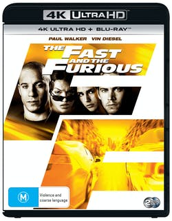 The Fast and the Furious (4K Ultra HD + Blu-ray) [UHD]
