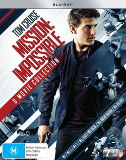 Mission: Impossible - The 6-movie Collection (Box Set) [Blu-ray]