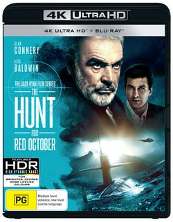 The Hunt for Red October (4K with Blu-ray) [UHD]