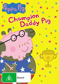 Peppa Pig: Champion Daddy Pig and Other Stories [DVD]