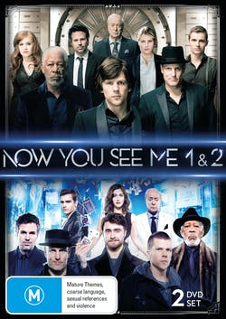 Now You See Me/Now You See Me 2 [DVD]