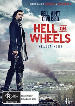 Hell On Wheels: The Complete Fourth Season (Box Set) [DVD]