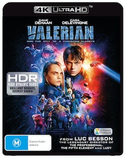 Valerian and the City of a Thousand Planets (4K Ultra HD + Blu-ray) [UHD]