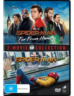 Spider-Man: Homecoming/Far from Home [DVD]
