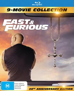 Fast & Furious: 9-movie Collection (Box Set (Limited Edition)) [Blu-ray]