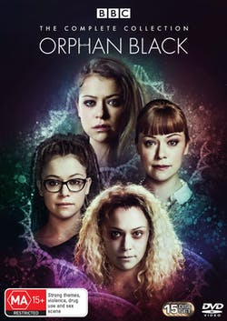 Orphan Black: The Complete Collection (Box Set) [DVD]
