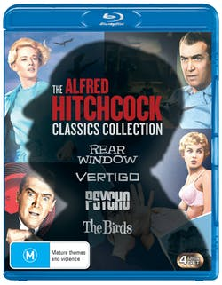 The Alfred Hitchcock Classics Collection (Box Set) [Blu-ray]