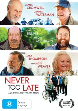 Never Too Late [DVD]