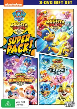 Paw Patrol: Mighty Pups Super Pack [DVD]