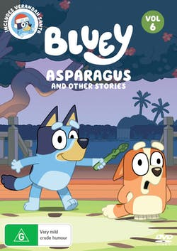 Bluey: Volume 6 - Asparagus and Other Stories [DVD]